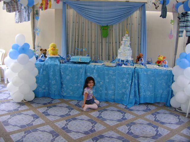 Baby Shower Decorations Globos Decoracion De Mesa