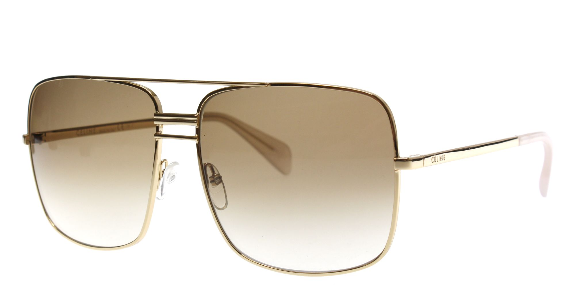 66c83a3fff72 Pin New Celine Sunglasses Men Aviator CL 41808 S Gold J5GXY CL41808 S 61mm