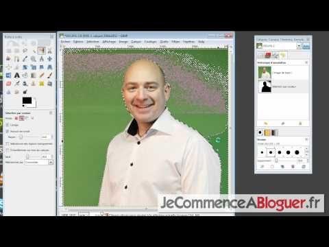 Comment détourer une image sur fond vert avec GIMP ...