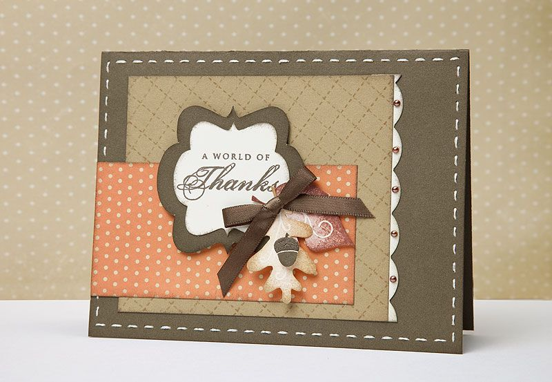 Card Making Ideas Thanksgiving Part - 37: A Link To Several Thanksgiving Card And #scrapbooking Ideas From #CTMH.