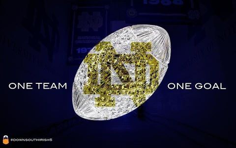 Tomorrow is the big day! I've been waiting my whole life for this to happen! Go get that crystal trophy boys! Let's Go Irish!!!