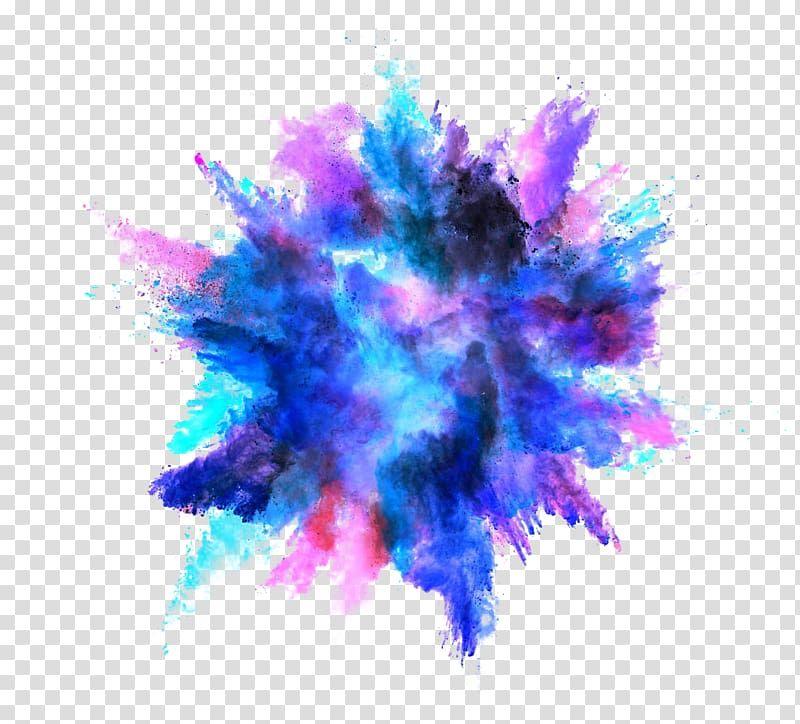 Colorful Smoke Explosion Png Color Splash Effect Splash Effect Color Dust