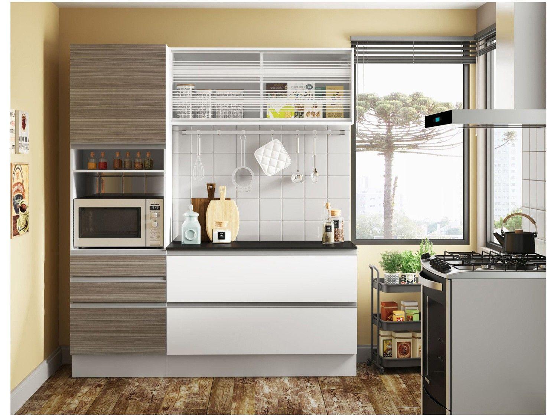 Cozinha Compacta Madesa Larissa Com Balc O Nicho Para Forno 5