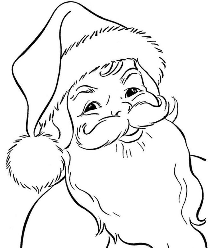 Read Moresanta Claus Coloring Pages Christmas Coloring Pages For