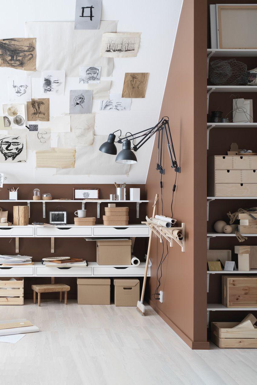 EKBY ALEX RAMSHULT Wandregal weiß, weiß IKEA Deutschland