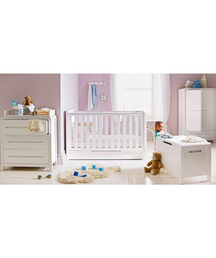 Curve 6 Piece Nursery Furniture Set White At Argos Co Uk Your Online For Sets