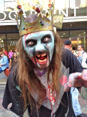 Zombie costume ideas from the Denver Zombie Crawl - Zombie crawl, Costumes, Halloween face makeup