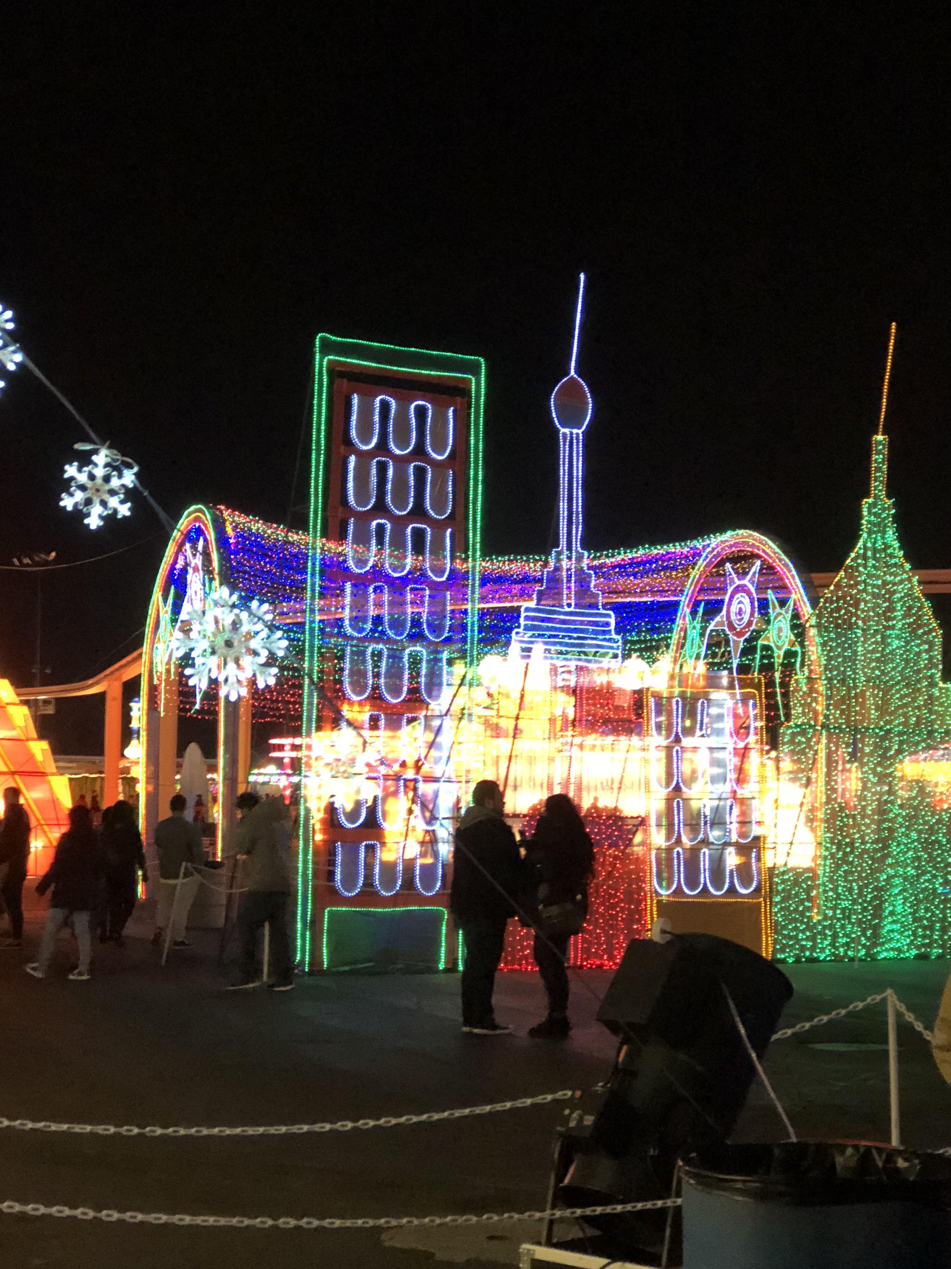 Cal Expo Christmas Lights.Global Winter Wonderland Cal Expo Sacramento Ca A Holly