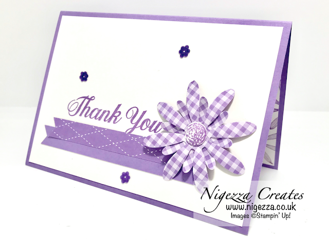 quick daisy thank you card with images  cards thank
