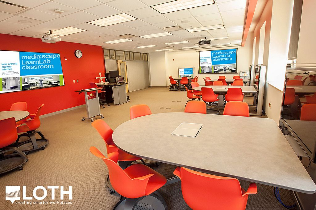 OSU Foreign Language Classroom | Columbus, OH Project By LOTH, Inc. U2013  Education