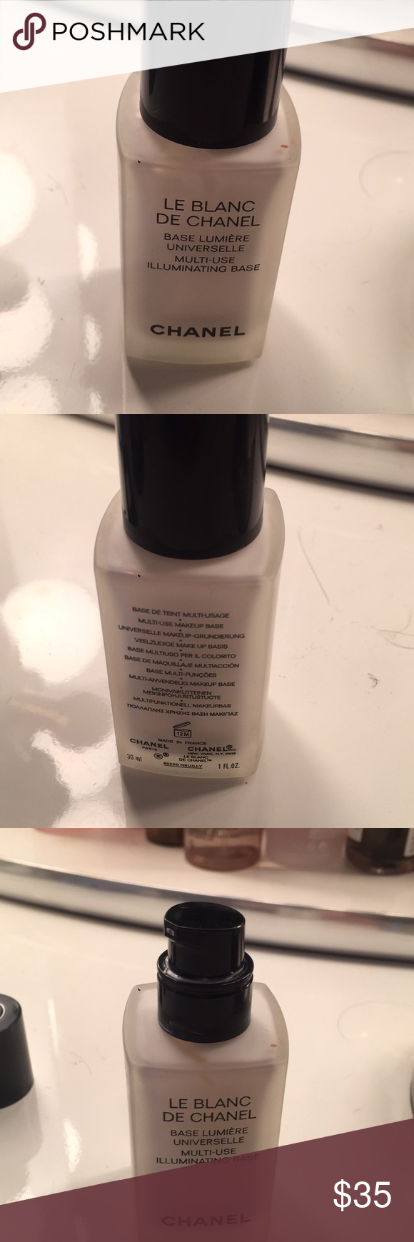 Chanel face primer This is the le bland de Chanel base
