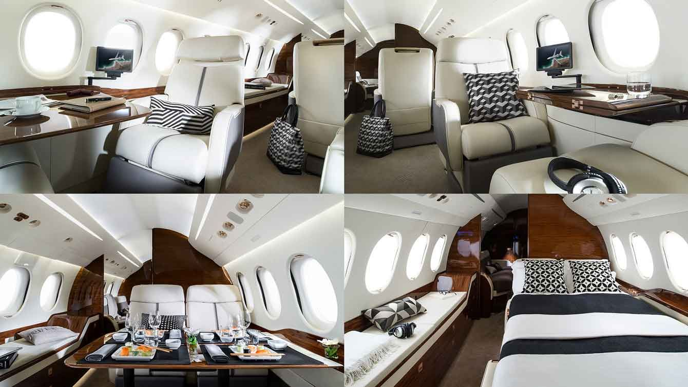 Aircraft  Falcon 7X Interior