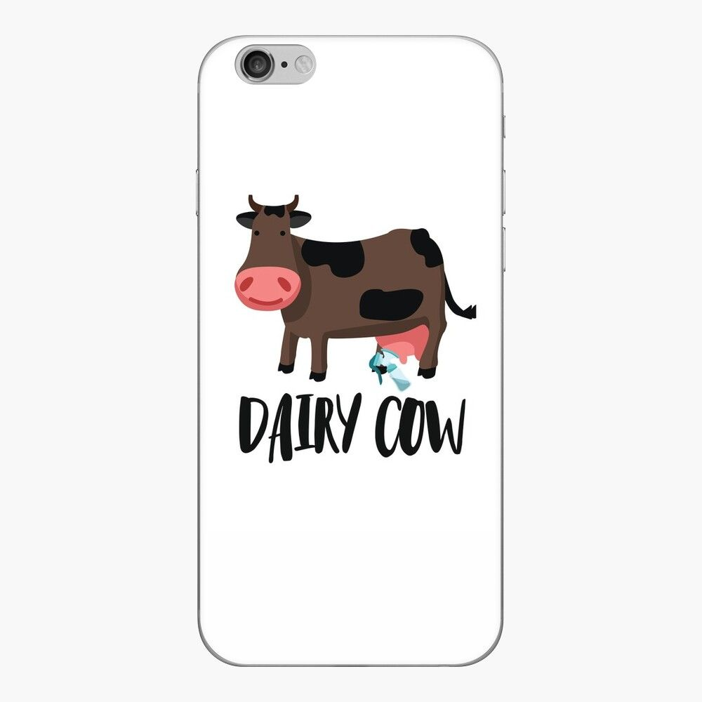 'Dairy Cow' iPhone Case by FLHeifer