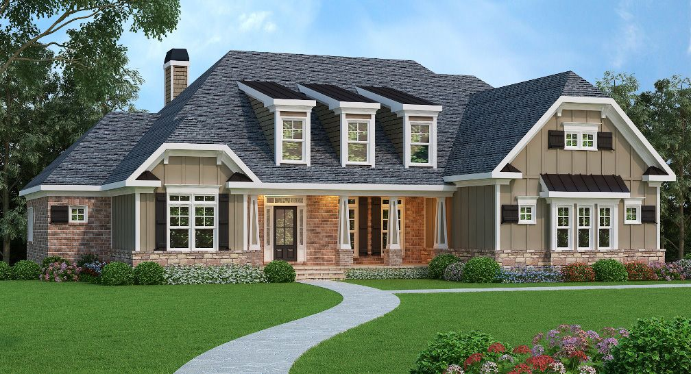 This Northwest house plan comes with impressive