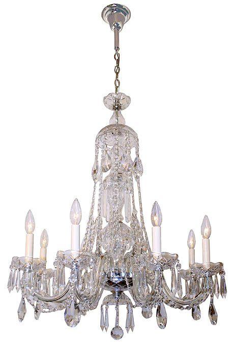 Contemporary Handmade, 6 Light Venetian Crystal Chandelier Created ...