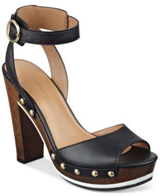 1e8bf2c370f Tommy Hilfiger Wendel Platform Dress Sandals