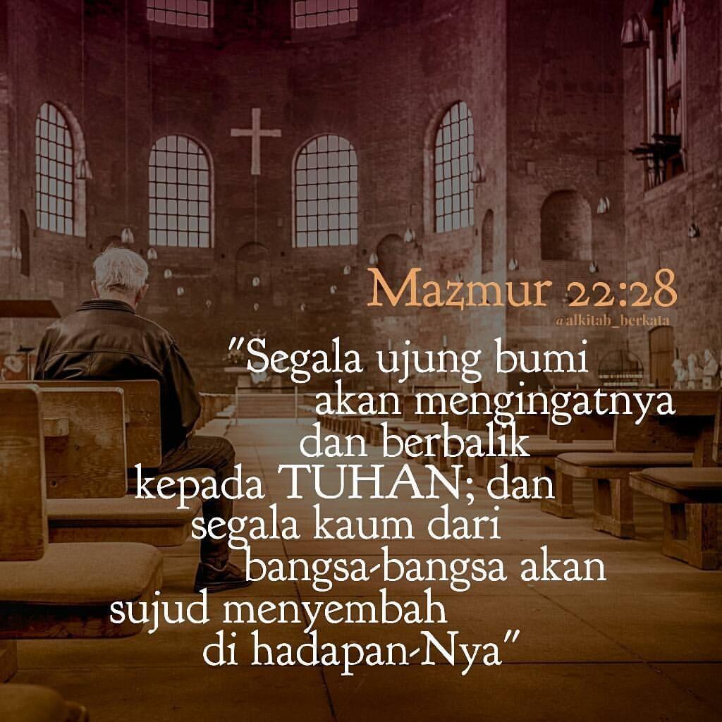 Alkitab Berkata Official Alkitab Berkata Instagram Photos And Videos Ayat Alkitab Mazmur Alkitab