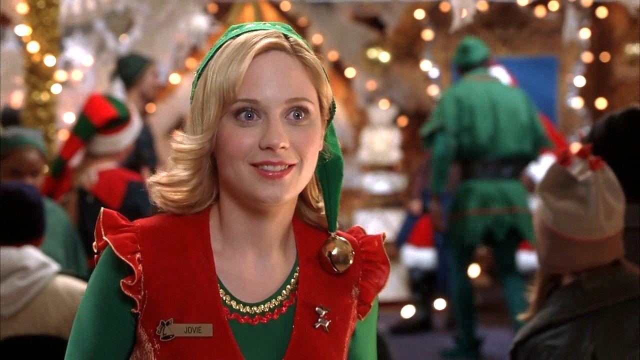 The Hall Of Hotties Jovie From Elf Zooey Deschanel Zooey Deschanel Elf Christmas Movies
