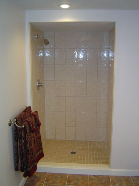 How To Tile A Custom Ceramic Tile Shower Video Http Www