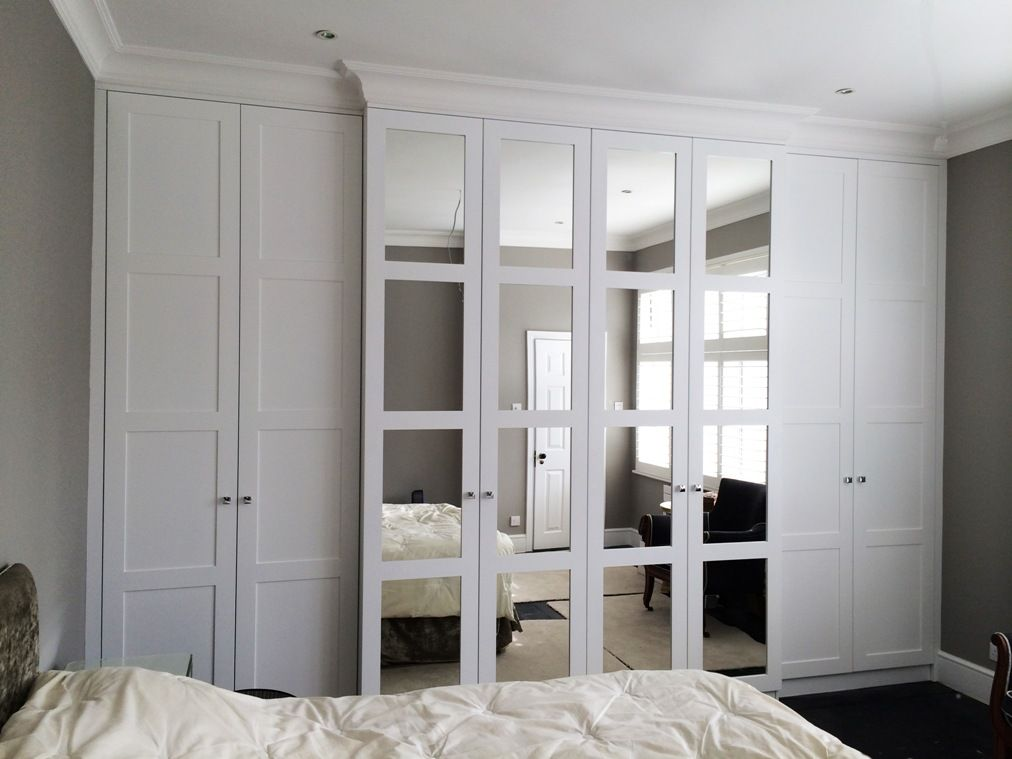 Delightful White Fitted Wardrobes