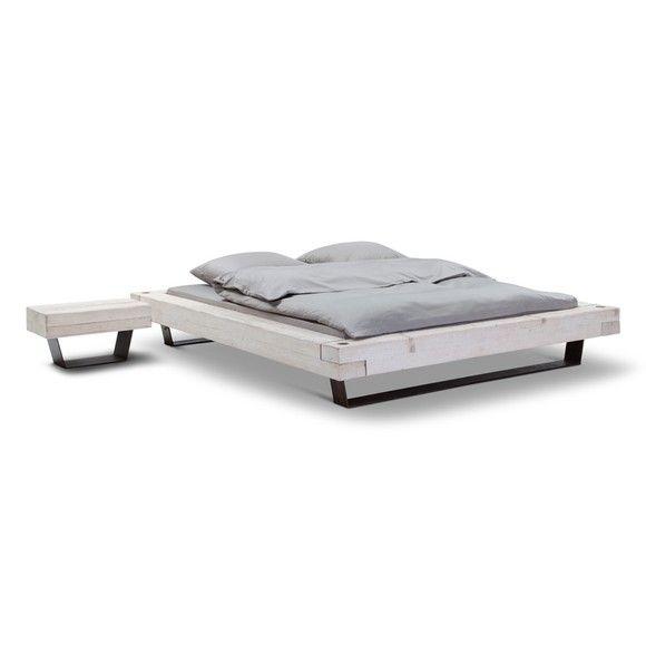 BLOCK Bett mit Nachttisch