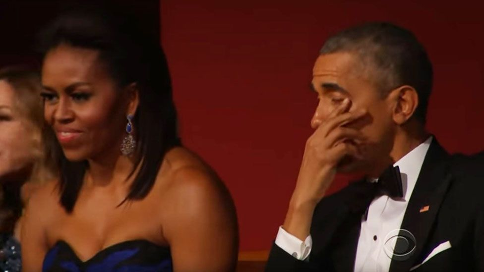 Seven times Barack Obama cried during an emotional eight years
