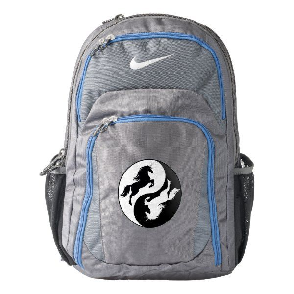 yin yang unicorn backpack  zazzle in 2020  unicorn