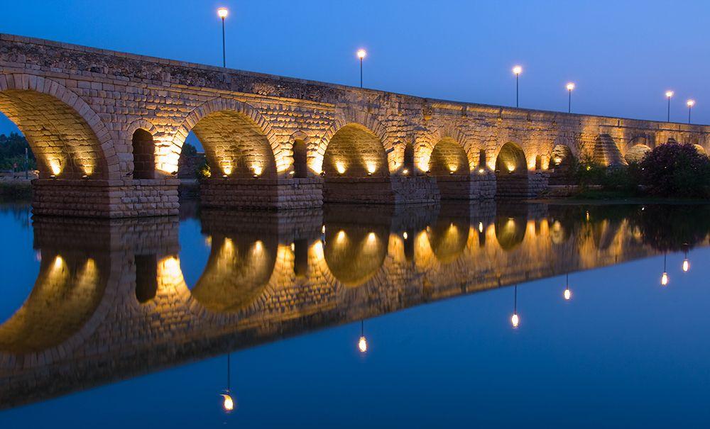 Puente De Merida Extremadura Puente Romano Considerado El Mas