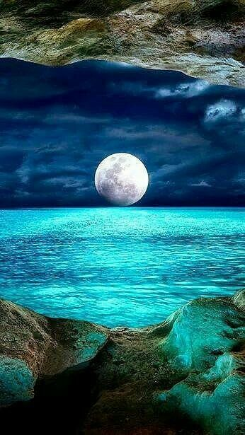 Moon Beautiful Moon Nature Pictures Beautiful Landscapes