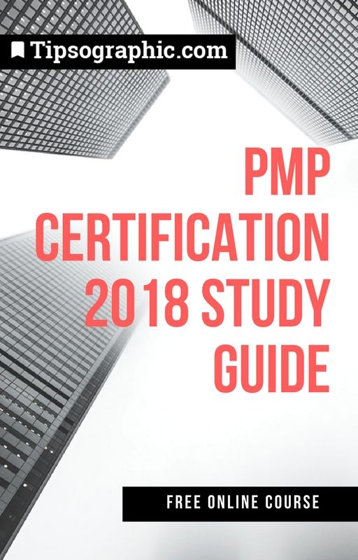 Pmp Certification 2018 Study Guide Free Online Course Based On