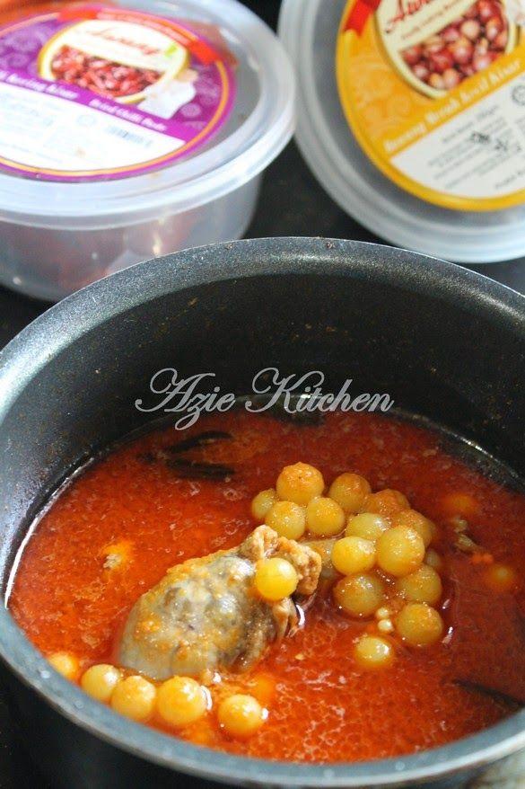 Azie Kitchen Masak Asam Pedas Telur Ikan Mayong Dengan Rempah A