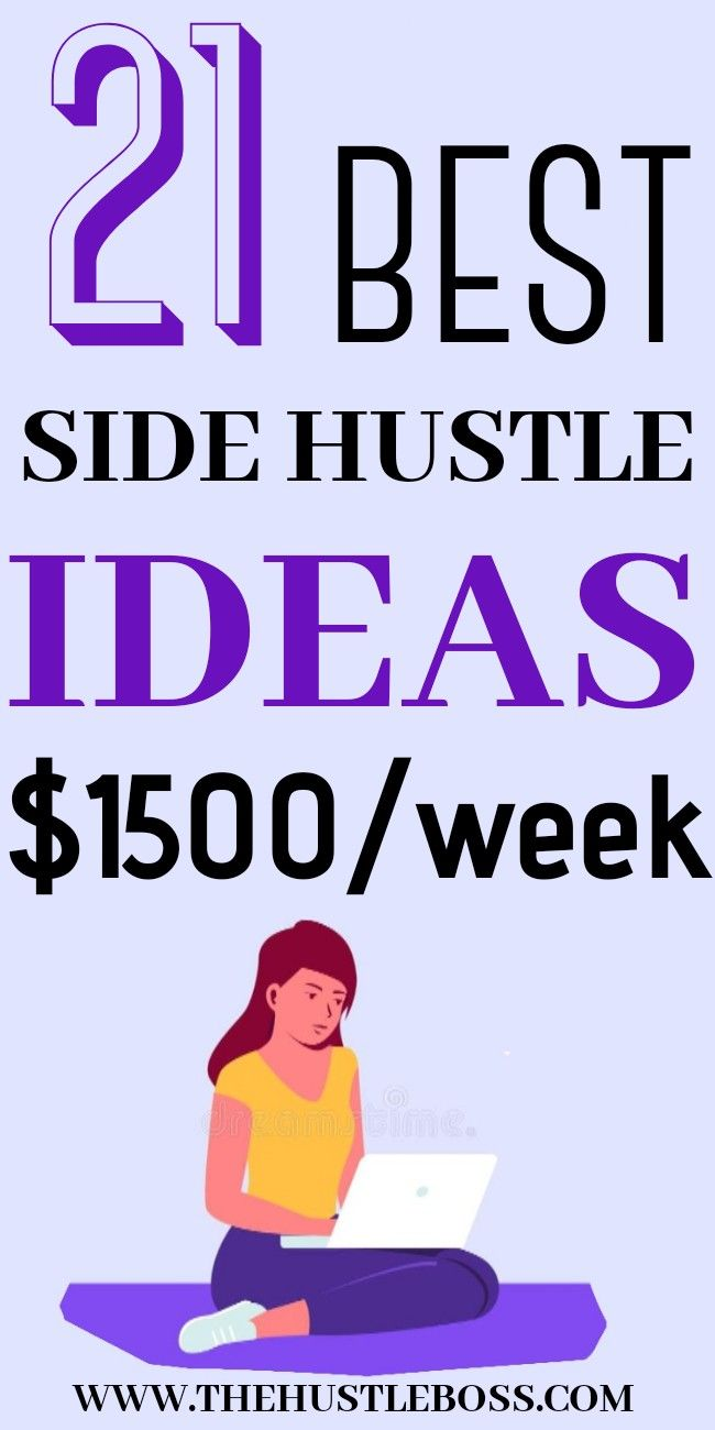 The best side hustle ideas to make money from home