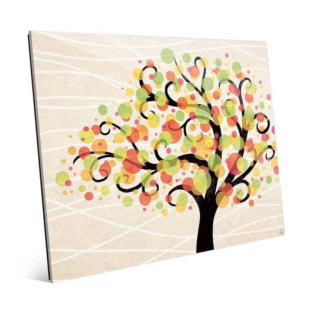 Bubble Tree Beta\' Print on Glass Wall Art   Products   Pinterest ...