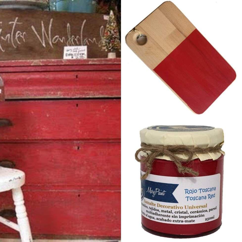 Como pintar muebles de rojo y propuestas de muebles - Como pintar muebles antiguos ...