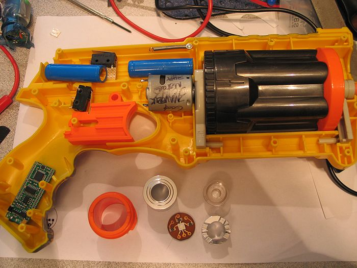 My first Nerf gun mod...(lots of pics)
