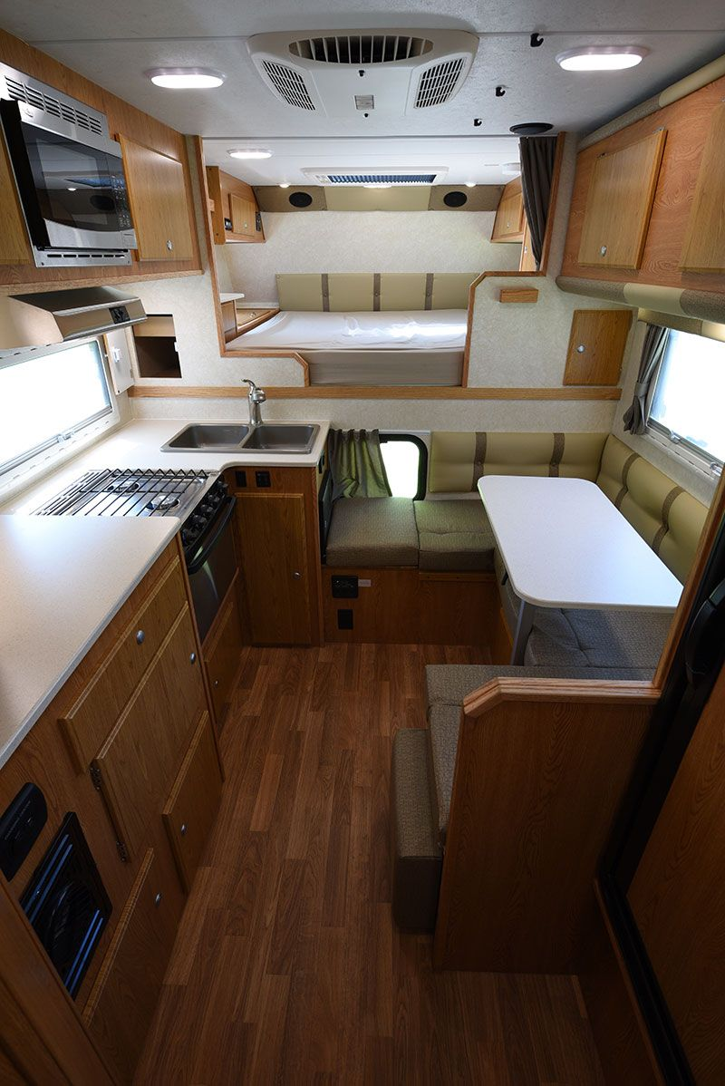 2017 Northstar 12STC Review Camper interior, Truck bed
