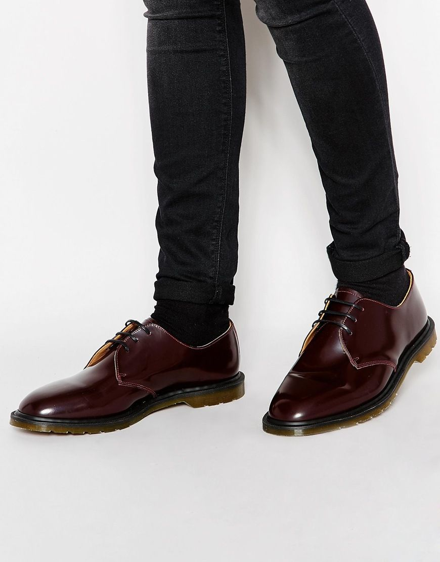 260845f56f Image 1 of Dr Martens Made In England Steed Shoes