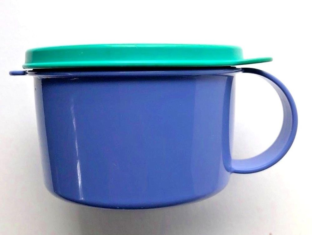 tupperware microwave soup bowl with