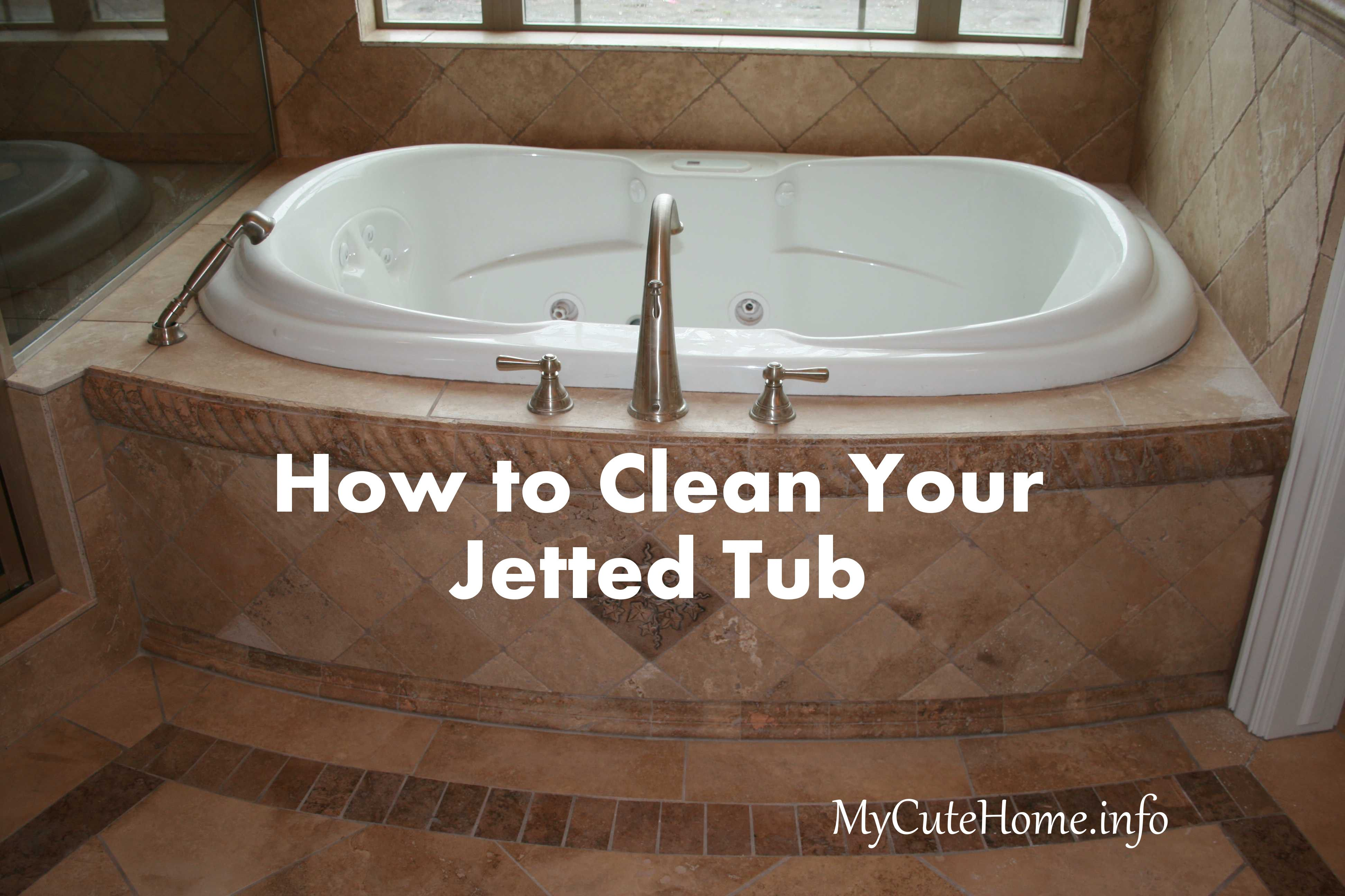 How to Clean a Jetted Tub | Home Decor | Pinterest | Jetted tub ...