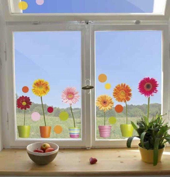 New fensterdeko kinderzimmer frohliche farben Kinderzimmer Pinterest Fensterdeko Kinderzimmer und Sch ne kinderzimmer