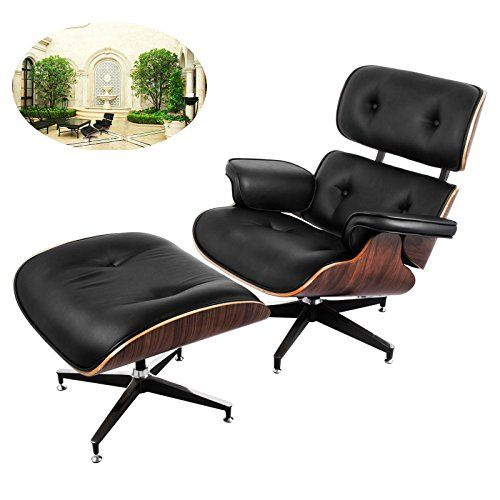 Awesome Happybuy Mid Century Lounge Chair And Ottoman Set 7 Ply W Gmtry Best Dining Table And Chair Ideas Images Gmtryco