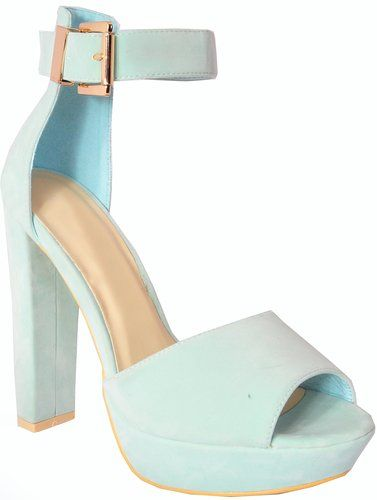 427e40359a5 Buy Ladies Womens Mint Green Pastel Faux Suede Platforms High ...