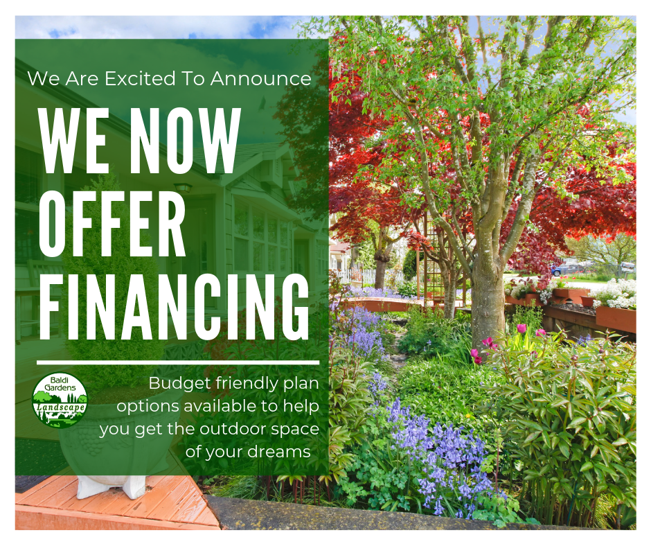 Financing Options Now Available Based On Credit And With Multiple Financing Options From Fixed Rates Or 12 Months No Outdoor Outdoor Space Landscape Services