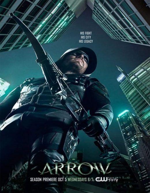 Arrow 5ª Temporada Arqueiro Verde Serie Serie Arrow