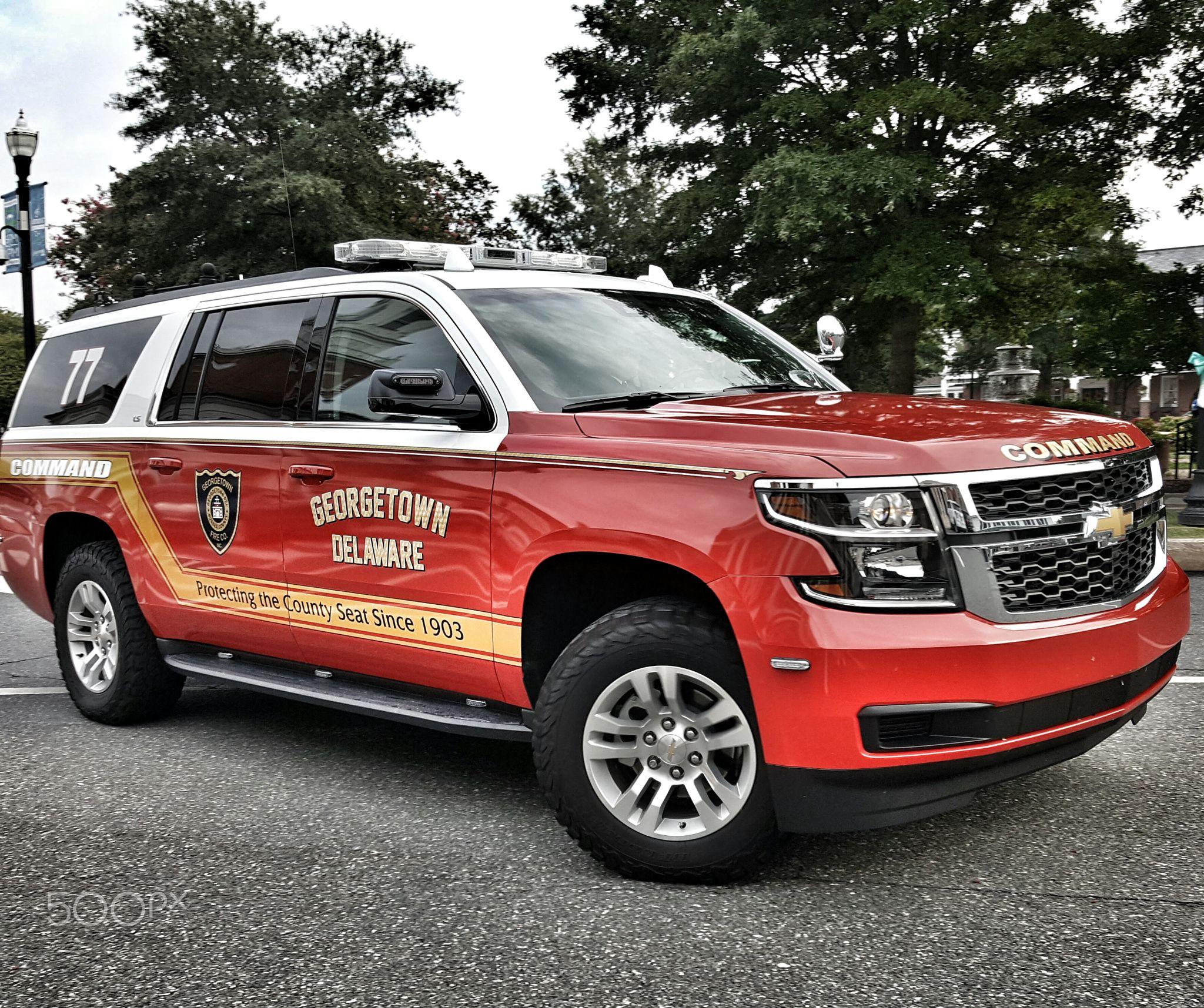 Georgetown Fire Company Command Unit Delaware