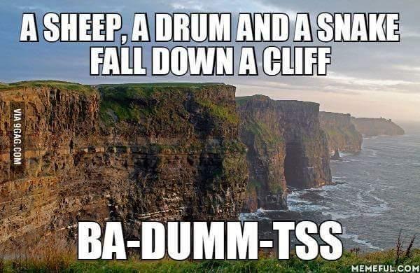 Ba-dumm-tss