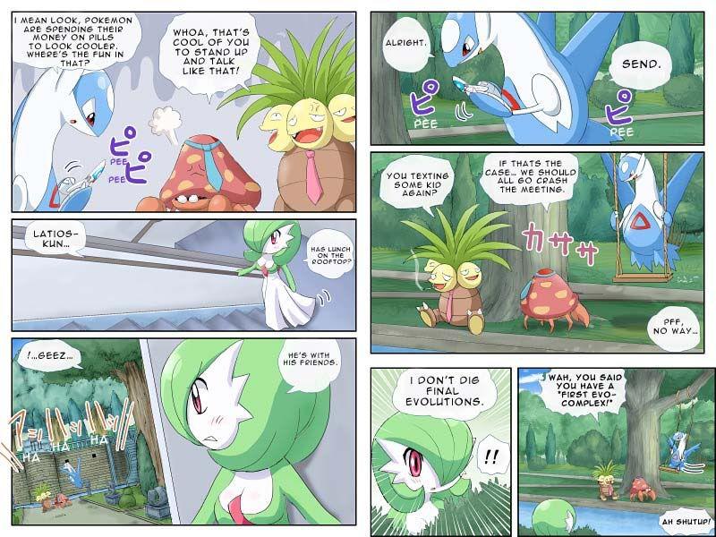 Gardevoir comic sir knight experience pokemon for Bano akira gardevoir