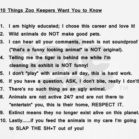 Zookeepers Knowjpg Womens Classic TShirt Zoo Keeper Zoos - 20 hilarious photos of what zookeepers get up to after closing hours