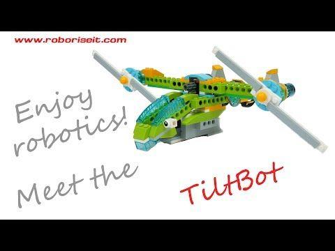 Meet the TiltBot! WeDo 2.0 robot - YouTube | LEGO | Pinterest ...