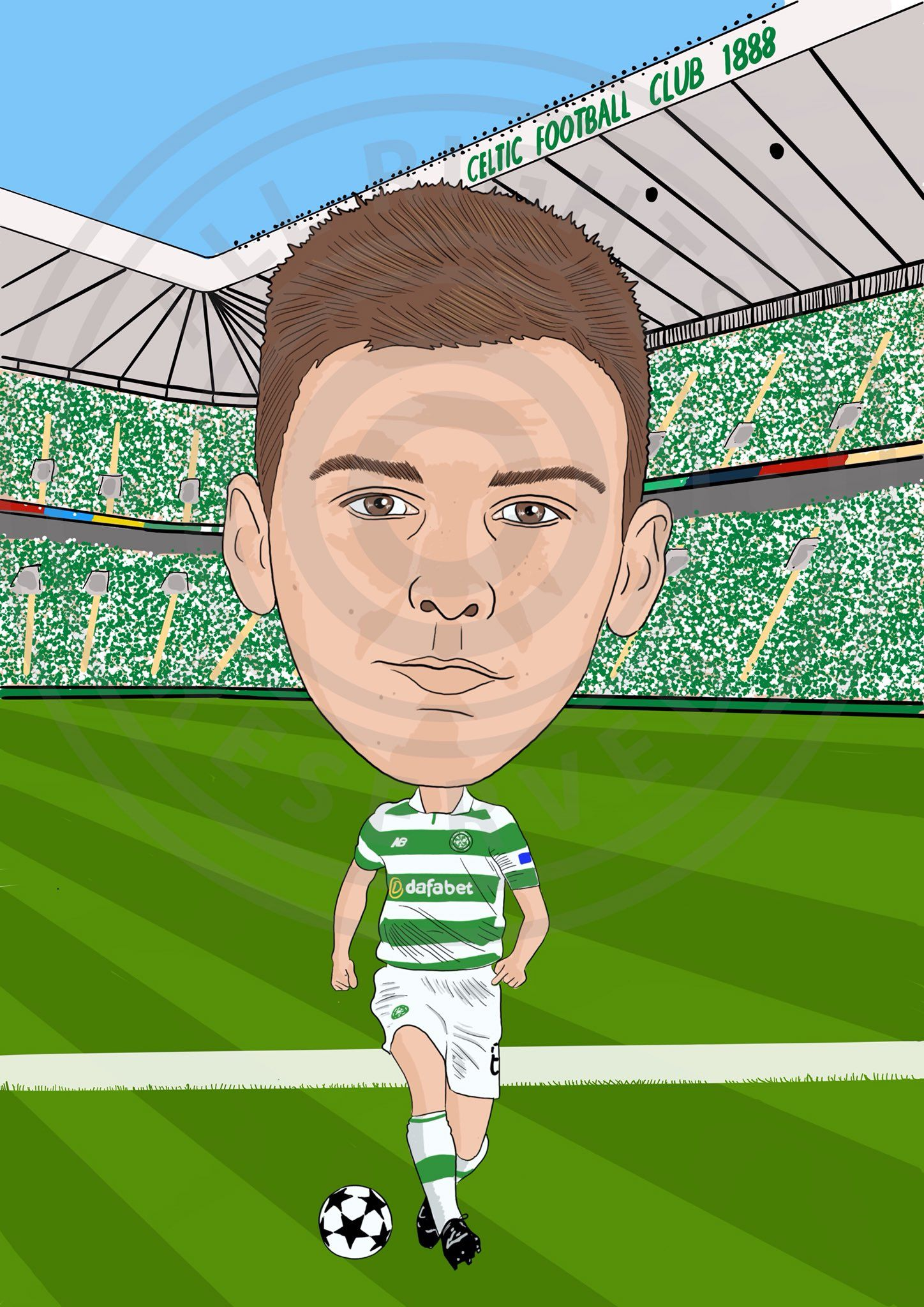 Pin on CELTIC CARTOONS